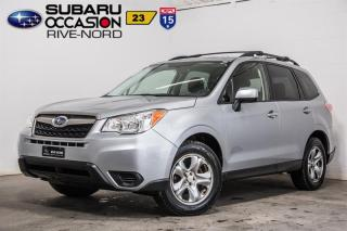 Used 2015 Subaru Forester BLUETOOTH+CAM.RECUL for sale in Boisbriand, QC