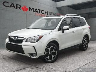 Used 2014 Subaru Forester XT Touring / LEATHER / ROOF / NO ACCIDENTS for sale in Cambridge, ON