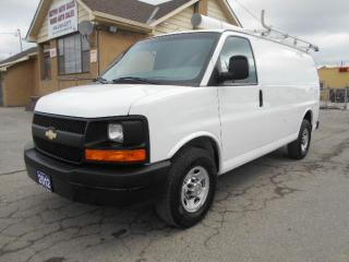Used 2012 Chevrolet Express 2500 2500HD Cargo 4.8L Rack Divider Shelving ONLY 139Km for sale in Etobicoke, ON