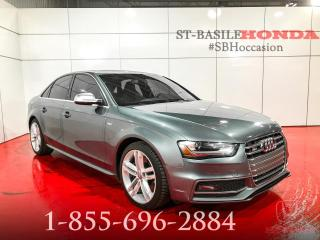 Used 2013 Audi S4 Berline 4 portes BA for sale in St-Basile-le-Grand, QC