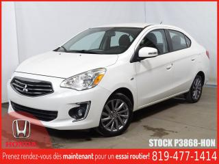 Used 2017 Mitsubishi Mirage SEL+REGVIT+MAG+BLUETOOTH+A/C+++ for sale in Drummondville, QC