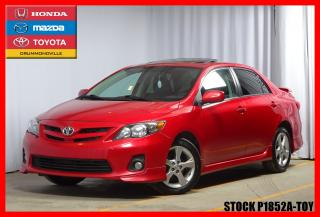 Used 2011 Toyota Corolla S T.ouvrant for sale in Drummondville, QC