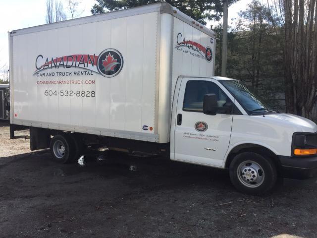 2017 Chevrolet G4500 Box Truck