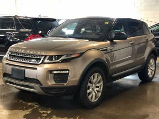 Used 2016 Land Rover Range Rover Evoque SE, BACK UP CAMERA, LEATHER, PANO ROOF for sale in Mississauga, ON