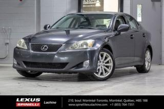 Used 2008 Lexus IS 250 Luxe Awd; Cuir Toit for sale in Lachine, QC