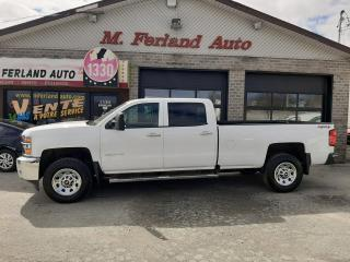 Used 2016 Chevrolet Silverado 3500 Camion de travail cabine multiplace 4RM for sale in Sherbrooke, QC