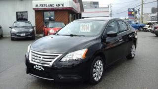 Used 2014 Nissan Sentra for sale in Sherbrooke, QC