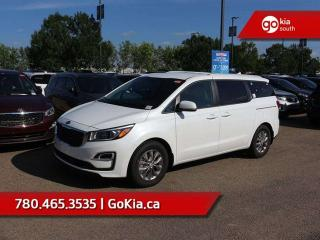 New 2019 Kia Sedona LX; 8 PASS, BACKUP CAMERA/SENSORS, HEATED SEATS/WHEEL, BLUETOOTH, ANDROID AUTO/APPLE CAR PLAY, A/C for sale in Edmonton, AB