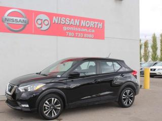 Used 2019 Nissan Kicks SV/ONE OWNER/BACK UP CAM/HEATED SEATS/PUSH START for sale in Edmonton, AB