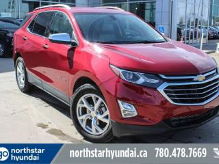 Used 2018 Chevrolet Equinox PREMIER/AWD/LEATHER/LOWKMS/BACKUPCAM for sale in Edmonton, AB