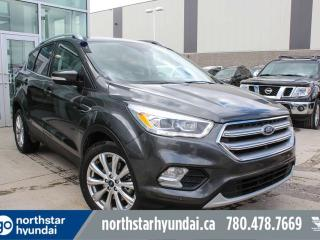 Used 2017 Ford Escape TITANIUM/LEATHER/PANOROOF/NAV/BACKUPCAM for sale in Edmonton, AB