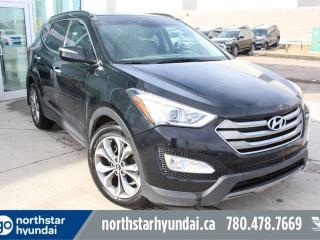Used 2014 Hyundai Santa Fe Sport LTD AWD/LEATHER/NAV/PANOROOF/COOLEDSEATS for sale in Edmonton, AB