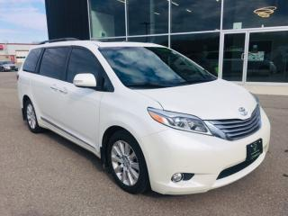 Used 2015 Toyota Sienna Limited 7 Passenger, Leather, Navigation, Sunroof for sale in Ingersoll, ON