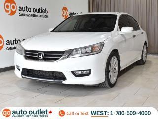 Used 2013 Honda Accord Sedan Touring, Auto, Heated leather seats, Nav, Backup camera, Sunroof for sale in Edmonton, AB