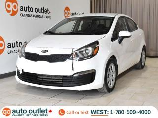 Used 2017 Kia Rio LX+, Auto, Heated Seats, One Owner! for sale in Edmonton, AB