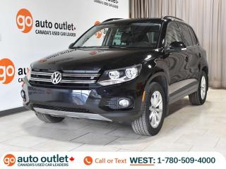 Used 2017 Volkswagen Tiguan Wolfsburg Edition AWD, Leather Heated Seats, Panoramic Roof, Backup Camera for sale in Edmonton, AB