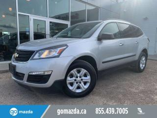 Used 2017 Chevrolet Traverse LS AWD BACKUP CAM 8 PASS LOW KM for sale in Edmonton, AB
