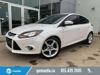 Used 2013 Ford Focus TITANIUM HATCH LEATHER SUNROOF NAV NICE EYEBALL for sale in Edmonton, AB
