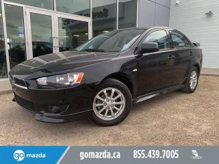 Used 2010 Mitsubishi Lancer SE HEATED SEATS POWER OPTIONS NEW BRAKES for sale in Edmonton, AB