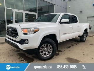 Used 2019 Toyota Tacoma SR5 CREW V6 AUTO POWER OPTIONS BACKUP CAM for sale in Edmonton, AB