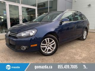 Used 2011 Volkswagen Golf Wagon HIGHLINE WAGON TDI PANO ROOF LEATHER VERY USEFUL for sale in Edmonton, AB