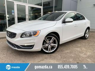 Used 2016 Volvo S60 T5 Special Edition Premier for sale in Edmonton, AB