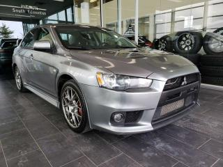 Used 2013 Mitsubishi Lancer Evolution GSR, ACCIDENT FREE, HEATED SEATS, BLUETOOTH for sale in Edmonton, AB