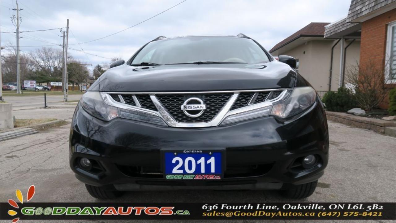 2011 Nissan Murano LE AWD LEATHER SUNROOF NAVI ALLOYS NO ACCIDENT