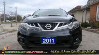 Used 2011 Nissan Murano LE|AWD|LEATHER|SUNROOF|NAVI|ALLOYS|NO ACCIDENT for sale in Oakville, ON