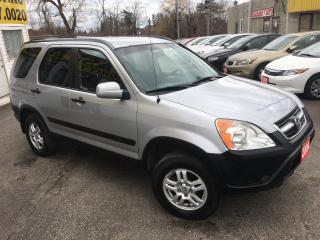 Used 2004 Honda CR-V EX/ AUTO/ AWD/ PWR GROUP/ ALLOYS & MUCH MORE! for sale in Scarborough, ON