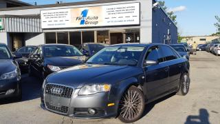 Used 2008 Audi A4 3.2L 255HP, S-line, Quattro for sale in Etobicoke, ON