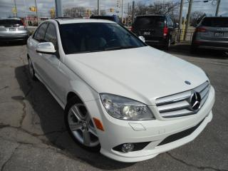 Used 2008 Mercedes-Benz C-Class AUTO 4MATIC NO ACCIDENT SAFETY 4 NEW BRAKES for sale in Oakville, ON