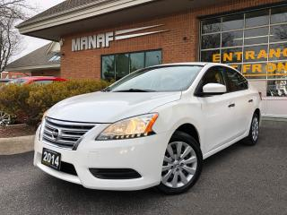 Used 2014 Nissan Sentra S Remote Starter cruise control Low KM Certified* for sale in Concord, ON