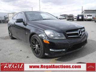 Used 2012 Mercedes-Benz C-Class C250 2D Coupe for sale in Calgary, AB