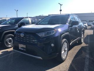 New 2019 Toyota RAV4 Hybrid Limited for sale in Burlington, ON