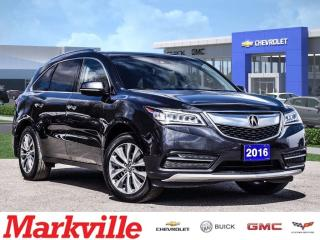 Used 2016 Acura MDX NAVI-ROOF-4 NEW TIRES-CERTIFIED PRE-OWNED-1 OWNER for sale in Markham, ON