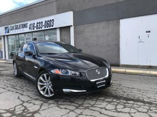 Used 2013 Jaguar XF V6-AWD-NAVI-LEATHR-SUN ROOF for sale in Toronto, ON