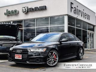 Used 2017 Audi S6 4.0T   Massage Seating   Sunroof for sale in Burlington, ON
