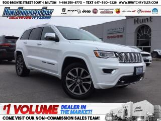 Used 2018 Jeep Grand Cherokee OVERLAND   DIESEL   BLIND SPOT   LEATHER   PANO & for sale in Milton, ON