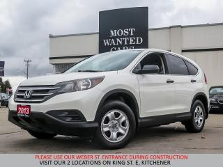 Used 2013 Honda CR-V LX AWD | CAMERA | HEATED SEATS | USB for sale in Kitchener, ON