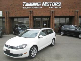 Used 2013 Volkswagen Golf Wagon HIGHLINE | NAVIGATION | LEATHER | SUNROOF | HEATED SEATS for sale in Mississauga, ON