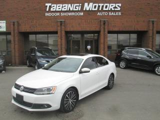 Used 2013 Volkswagen Jetta HIGHLINE | LEATHER | SUNROOF | HEATED SEATS | B\T for sale in Mississauga, ON