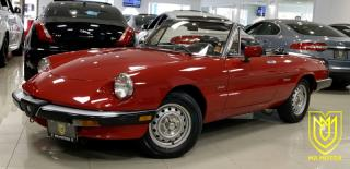 Used 1987 Alfa Romeo Spider Graduate for sale in North York, ON