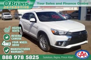 Used 2018 Mitsubishi RVR SE w/Mfg Warranty, 4WD for sale in Saskatoon, SK