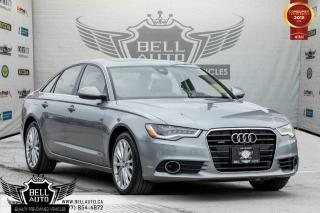 Used 2014 Audi A6 3.0T Technik, AWD, NAVI, 360 CAM, BLIND SPOT, BOSE SOUND, ASSISTANT GRAPHIC for sale in Toronto, ON