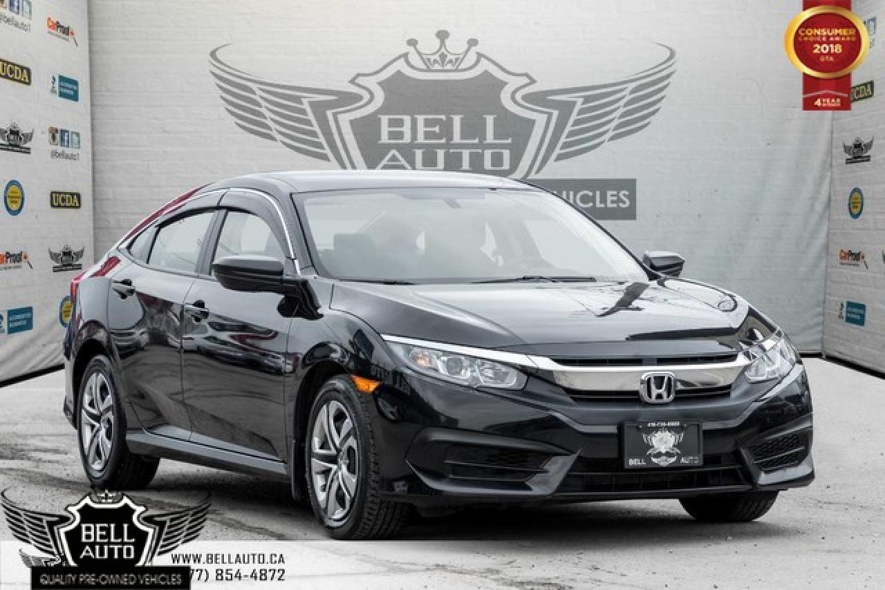2016 Honda Civic BACK-UP CAM, BLUETOOTH, 6 SPEED MANUAL, USB