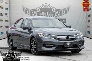 Used 2016 Honda Accord Sport, SUNROOF, BACKUP CAM, PUSH START, BLUETOOTH,ALLOY WHEEL for sale in Toronto, ON
