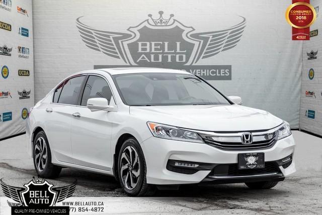2016 Honda Accord EX-L, SUNROOF, PUSH START, BACKUP CAM, SIDE CAM, LEATHER