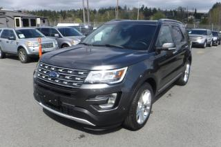 Used 2017 Ford Explorer Limited 4WD 3rd row seating for sale in Burnaby, BC