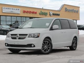 Used 2018 Dodge Grand Caravan GT  - Bluetooth -  Leather Seats - $178.34 B/W for sale in Brantford, ON